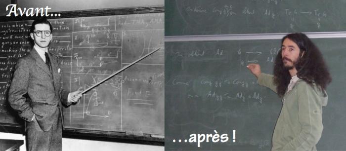 Habit prof avant après