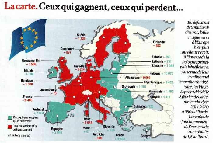 infographie déficit Europe - Valeurs actuelles 14-02-2013