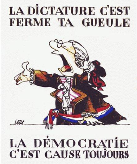 démocratie cause toujours