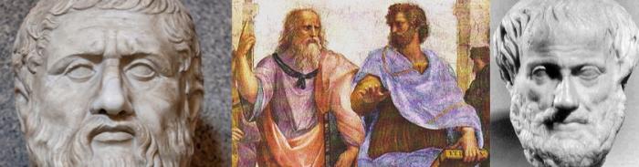 montage Platon Aristote