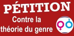 pétition non théorie genre