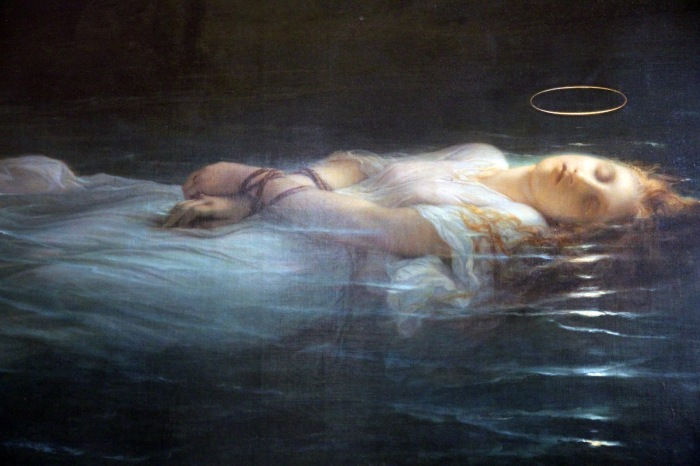 Young Martyr - Delaroche Paul Hippolyte