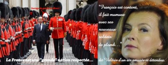 Hollande soldats de plomb