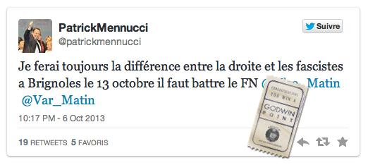 Menucci et les fascistes