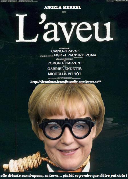 montage Merkel L'aveu