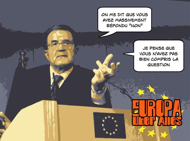 Affiches bassement populistes : Police du Monde Parodique (3/6)