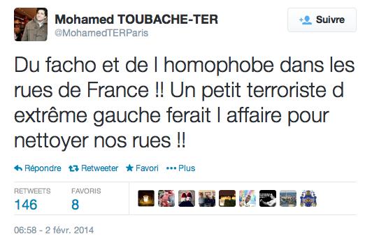 tweet mohamed toubache ter