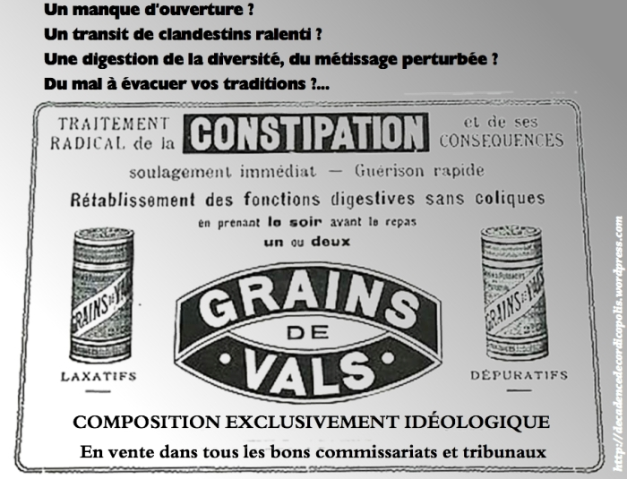 Montage Valls constipation