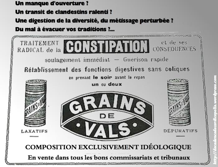 Montage Valls constipation