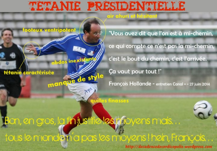 Hollande footeux