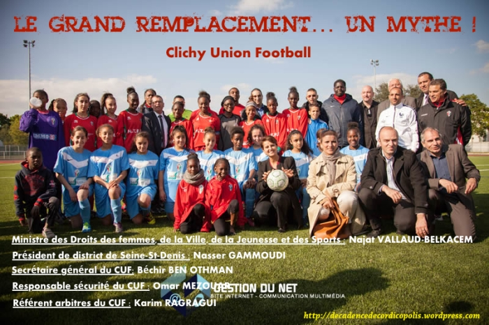 montage Najat Vallaud-Belkacem grand remplacement