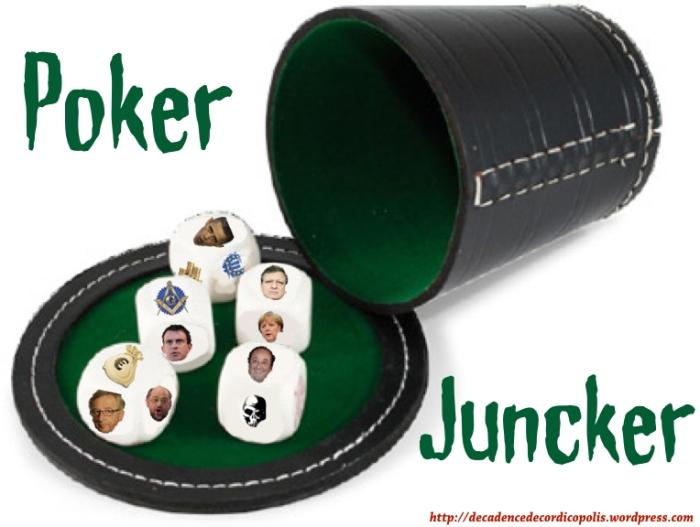 montage poker Juncker