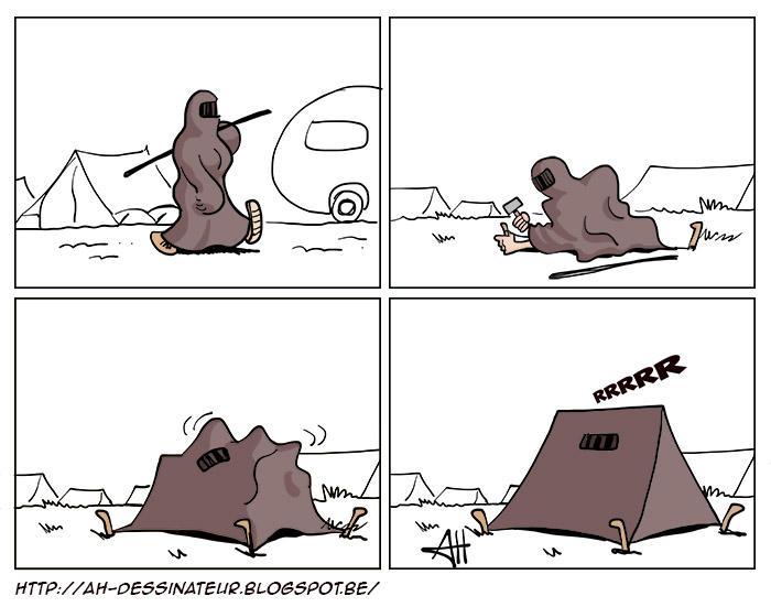 burka-tente