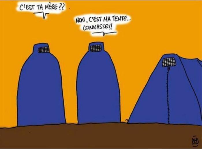 burqua vs tente