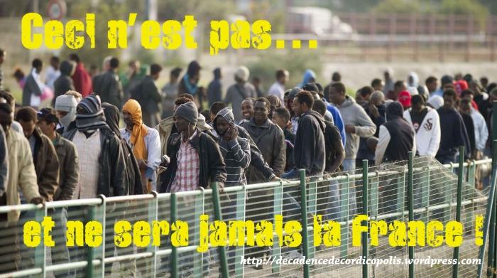 flot migrants Calais