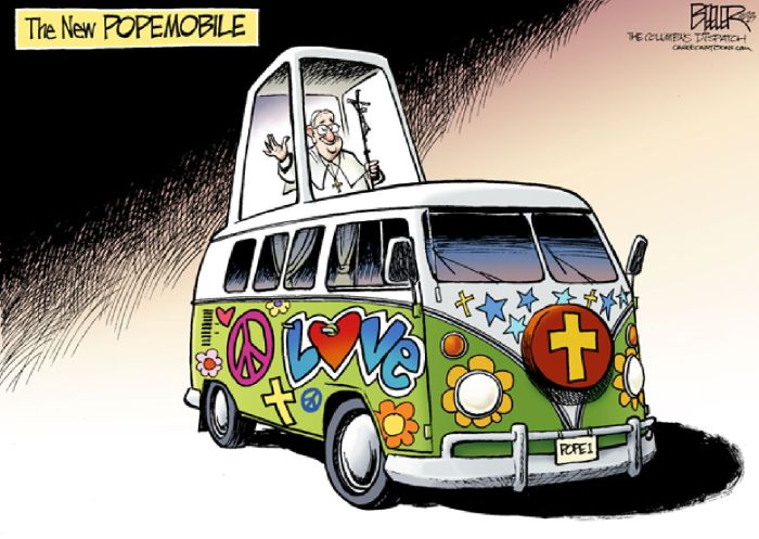 Nate Beeler Pope1 The New Colombus 24-09-2013