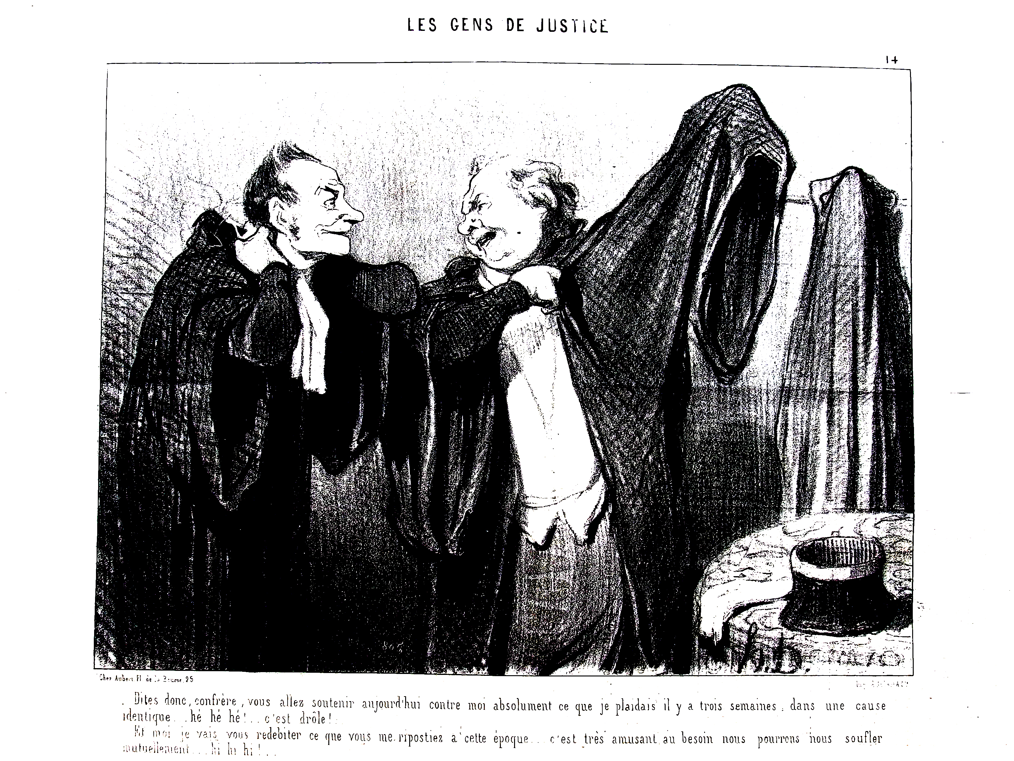Le Charivari, n°14, Honoré Daumier