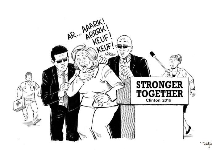 teddijo_dessin_hillary_clinton_stronger_malaise_campagne_electorale_usa_2016