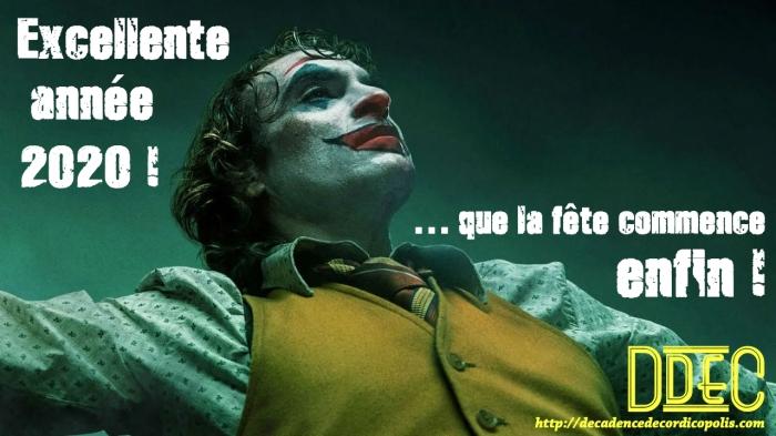 Voeux Joker 2020