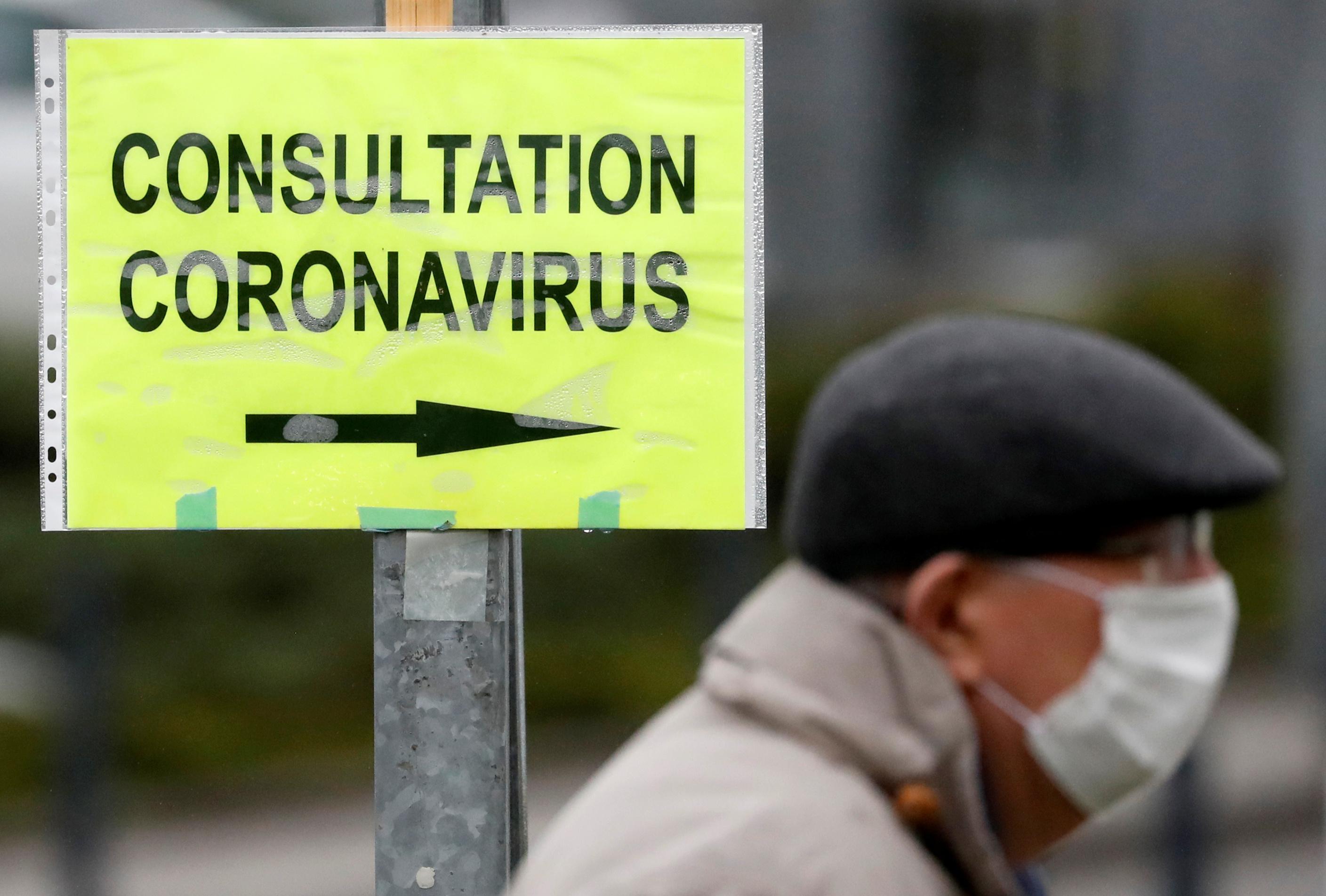 Coronavirus: Le nombre de cas confirmés en France passe à 1.606