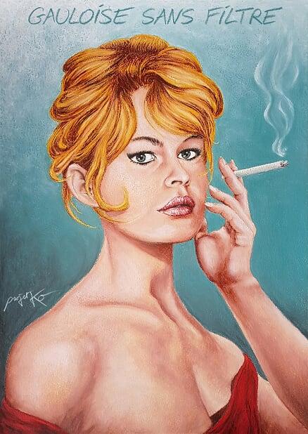 ProjetKO-dessin-BB-Brigitte-Bardot-gauloise-b0b04-12409